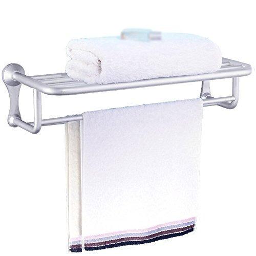Toallero Baño Baño Espacio Aluminio Pared Doble Perforación -   4 3f4c0cfcce04