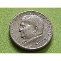 Moeda De 50 Centavos 1954 Presidente Dutra Brasil (ref 2096)