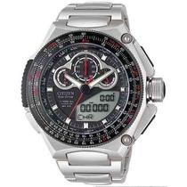 Relogio Citizen Jw0071-58e Jw0071 Super Cronografo Titanium