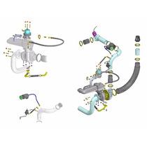 Kit Turbo Fiat Tempra 8v Multiponto T3 - Sem Turbina