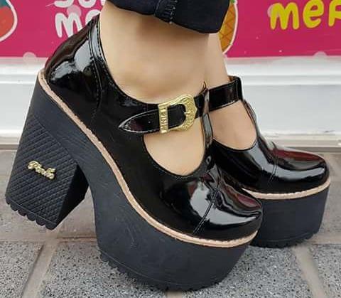 Zapatos Al Taco Y Alta 35 Guillermina 1 40 Plataforma 050 Charol rFrxqn7w6