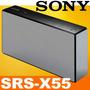 Sony Srs-x55 Caixa De Som Portátil Bluetooth 30w Preta Nova