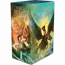 Box Percy Jackson E Os Olimpianos Nova Capa ( 5 Livros )