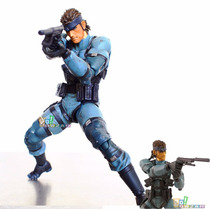 Boneco Action Figure Metal Gear Solid Snake Mgs2