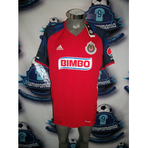 Jersey Original Adidas Chivas Guadalajara Roja Gala 2016