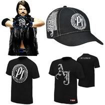 Wwe Polos Aj Styles, Seth Rollins, Brock Lesnar,dean Ambrose