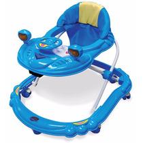 Andador Carrinho Musical Azul - Dardara