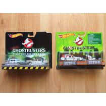 Set 2 Hot Wheels Ghostbusters Cazafantasmas Ecto 1 1a 1 Y 2