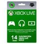 Xbox Live Gold Trial 14 Días Código Digital Inmediato