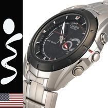 Reloj Casio Edifice Efa-119 Analogo Digital Termometro Crono