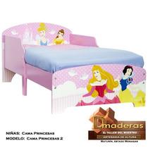 Cama Para Niñas Modelo Princesas Pr2
