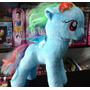 Peluche My Little Pony Mi Pequeño Pony - Rainbow Dash 32 Cm