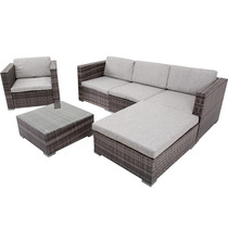 Conjunto De Mesa E Cadeiras Para Área Externa Mainstays