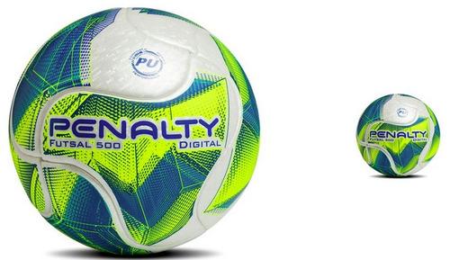 3364fe6d6c919 Bola Futsal Penalty Digital 500 Termotec Fusionada 0% Água - R  179 ...