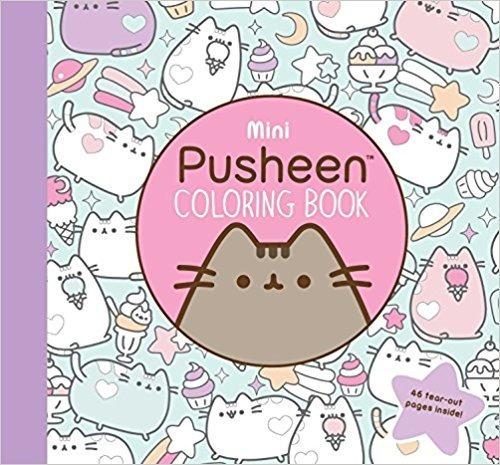 Pusheen Libro Para Colorear De