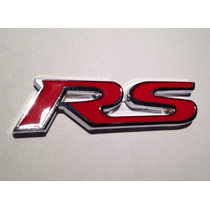 Emblema Rs Autocolante Renault Sports Clio Sandero