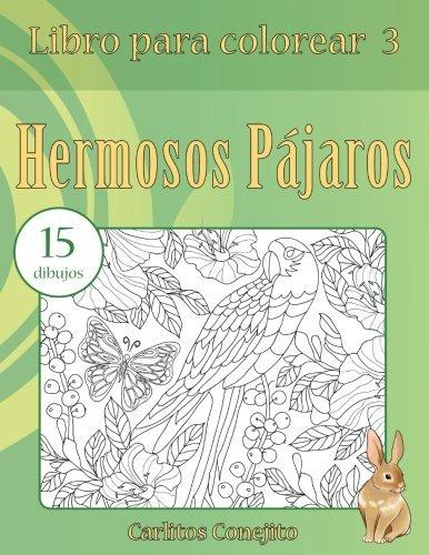 Libro : Libro Para Colorear Hermosos Pajaros: 15 Dibujos ...