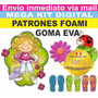 Kit Imprimible Manualidades En Foamy Goma Eva Envio Via Mail