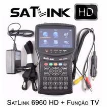 Localizador Satélite Satlink Ws-6960 Hd Dvbs2 Ses6 Original