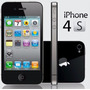 Apple Iphone 4s 8gb 8mp Gsm Factory Unlocked Blanco Y Negro