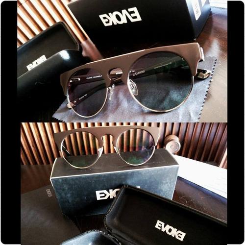 Óculos Sol Evoke Original + Lentes Grau Transition 2 Em 1 - R  399 ... 6f7035a06e