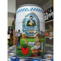 Barril Cerveza 5l Weidmann Trig Importada Alemania Caballito