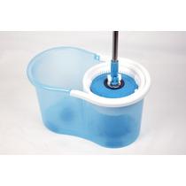 Balde Spin Centrifuga Perfect Mop 360º Inox 3 Refis Limpeza