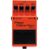Pedal Boss Md-2 | Mega Distortion | Distorção | Guitarra