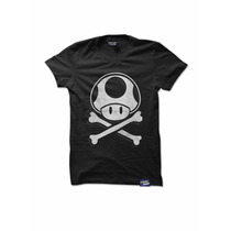 Playera Pepper Dash Mario Bros Rude Mushroom