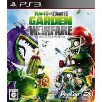 Plantas Vs Zombies Garden Warfare Ps3 En Español