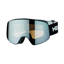 Antiparras Ski Head Horizon Race Se Black + 2 Sparelens