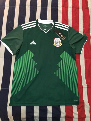 Clon Playera Futbol México Verde Y Blanca Caballero -   800.00 en Mercado  Libre a9ac1b7b79c45