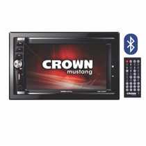 Reproductor Multimedia Auto Crown Mustang Hd Usb Bluetooth