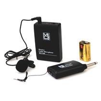 Mr Dj Mic 1200 Sistema Inalámbrico De Microfono Lavalier