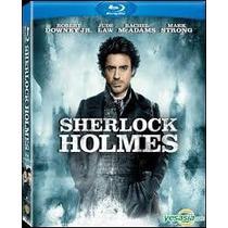 Blu Ray Sherlock Holmes 1 Robert Downey Jr. Tampico Madero
