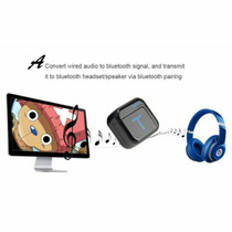 Transmissor Bluetooth Audio Stereo Plugue P2 3.5 Mm