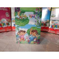 Huevo Sorpresa Tipo Kinder Dora Y Diego Go 6pz Chocolate
