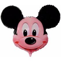 10 Balão Mickey Cabeça Grande Decoração Festa Aniversário