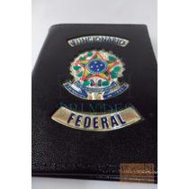 Porta Funcional Funcionário Federal Brasão Da República P73p