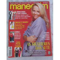 Revista Manequim Antigas - Com Moldes - Usadas
