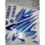 Adesivo Moto Xtz 125 Jogo 2007 Azul Compl