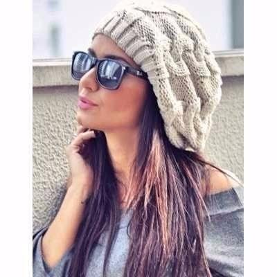 Boina Gorro Beanie Touca Feminina V cores Pronta Entrega - R  29 172c497856a