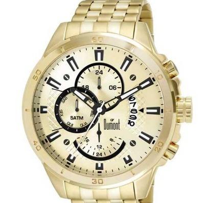 a5733e46ad2 Relógio Dumont Masculino Garbo Dujp15ab 4d - R  436