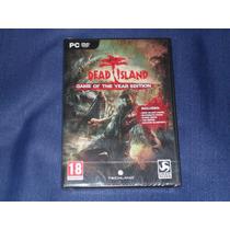 Dead Island Goty+ Pc Original+nuevo Sellado+envio Gratis