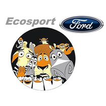 _capa Estepe Ecosport Varios Modelos 2003 2004 2005 2006