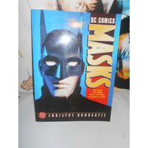 Libro Mascaras Dc Para Armar Y Usar Joker Batman Superman