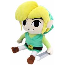 Peluche Oficial Link Wind Waker Zelda Nintendo Nuevo Oferta