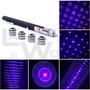 Puntero Láser Azul Violeta 50mw + 5 Puntas Efectos Distintos
