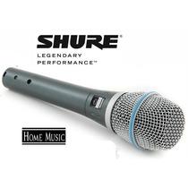 Micrófono Shure Beta 87 Alambrico Profesional D-carlo