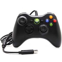 Controle Video Game X-box 360 Xbox Pc Notebook Usb Com Fio